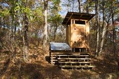 Komponera dass på den Appalachian slingan Arkivbilder