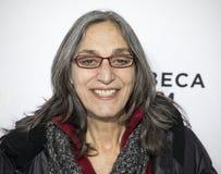 Komponist Miriam Cutler Arrives für Premiere am 17. Tribeca-Film-Festival lizenzfreie stockbilder