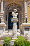 Kompositör Jules Massanet, Monte - carlo, Monaco Arkivbild