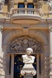 Kompositör Jules Massanet, Monte - carlo, Monaco Royaltyfri Bild
