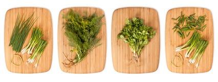 Komposit med många olika variationer av ingredienser Fotografering för Bildbyråer