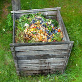 Kompostbehälter Lizenzfreies Stockfoto