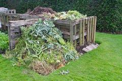 Kompostbehälter Lizenzfreies Stockbild
