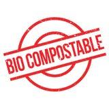 Kompostierbarer BioStempel Lizenzfreies Stockbild