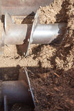 Kompostmaskinerifungerings Arkivbilder