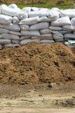 Kompostować ekologiczny w gospodarstwie rolnym obrazy stock