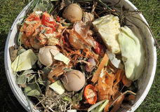 Kompostowi materiały Fotografia Royalty Free