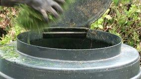 Kompostowy zbiornik zbiory wideo