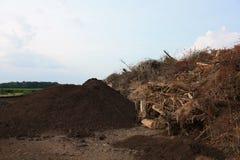 komposttäckning Royaltyfria Bilder