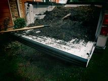 Komposttäckning Royaltyfria Foton