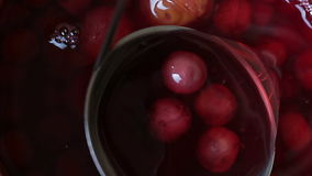 Kompot-Saft stock video footage
