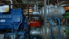 Kompressor för kraftig metall för rörelseforntid centrifugal lager videofilmer