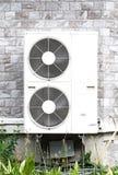 Kompressor för luftvillkordubblett arkivbild