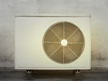 Kompressor-Klimaanlage Stockfotografie