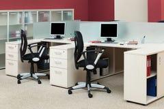 komputerów biurka Fotografia Royalty Free