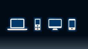 komputerów gracze Fotografia Stock