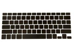 komputerów klucze puści klawiaturowi Zdjęcia Stock