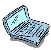 Komputer royalty ilustracja