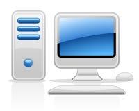 komputer ilustracji