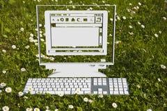 Komputer Zdjęcie Stock