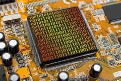 komputer chipa bajtowego Zdjęcia Royalty Free