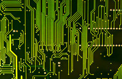 komputer chipa zbliżenia Obraz Royalty Free