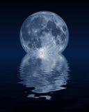 komputer genrated księżyca royalty ilustracja