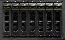 komputer jeździ mocniej serwera Zdjęcia Royalty Free