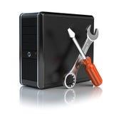 Komputer naprawa Zdjęcie Stock