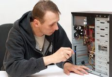 komputer naprawa Obraz Stock