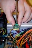 komputer naprawy Zdjęcia Stock