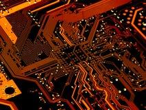 komputer obwód Obraz Stock