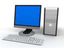 komputer osobisty ilustracji