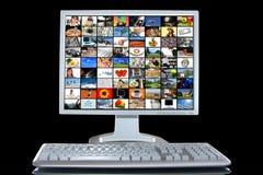 komputer osobisty stacja robocza zdjęcia stock