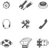 Komputer pojemności ikony Zdjęcie Stock