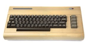 komputer stary Zdjęcie Stock