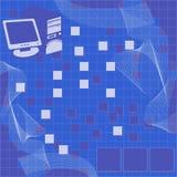 komputer tła wektora Fotografia Stock