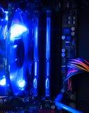 komputer wewnątrz Obraz Stock