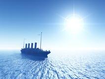 Oceanu liniowiec Zdjęcie Royalty Free