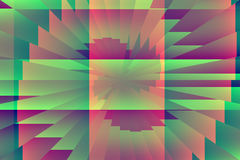 Komputer wytwarzająca abstrakcjonistyczna grafika Fotografia Stock