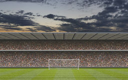 Komputer wytwarzający stadion futbolowy Zdjęcie Stock