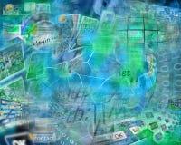 Komputerowa abstrakcja Zdjęcie Royalty Free