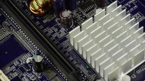 Komputerowa główna deska, zgromadzenie obwód zdjęcie wideo