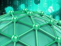 Komputerowa Globalna sposobu Lan sieć I Komunikuje ilustracja wektor