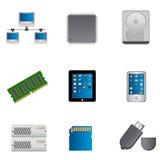 komputerowa ikona rozdzielać set Zdjęcie Royalty Free
