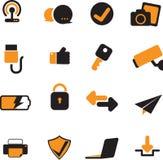 Komputerowa ikona ustawia 02 Obrazy Stock