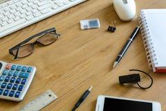 Komputerowa klawiatura i narzędzia Fotografia Royalty Free