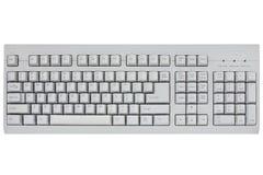 Komputerowa klawiatura odizolowywająca na biel Fotografia Royalty Free