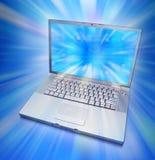 komputerowa laptopu ekranu technologia obrazy stock