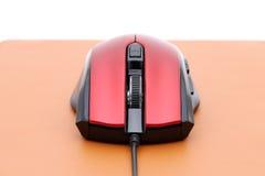 Komputerowa mysz na mysz ochraniaczu Zdjęcie Royalty Free